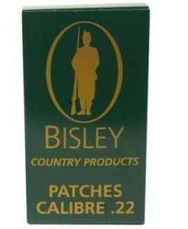 Bisley .22 Rifle Cleaning Patches x75