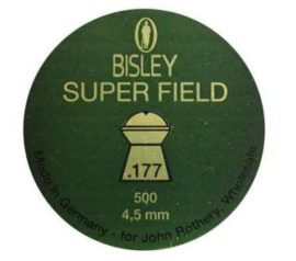 Bisley Superfield 177 Air Rifle Pellets