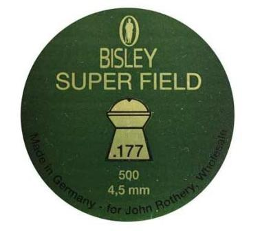 Bisley Superfield 177 Air Rifle Pellets