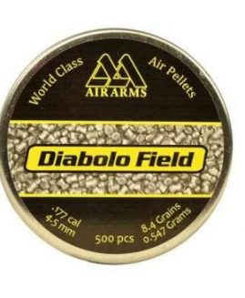 Air Arms Diabolo Field .177 4.51 / 4.52 Air Rifle Pellets